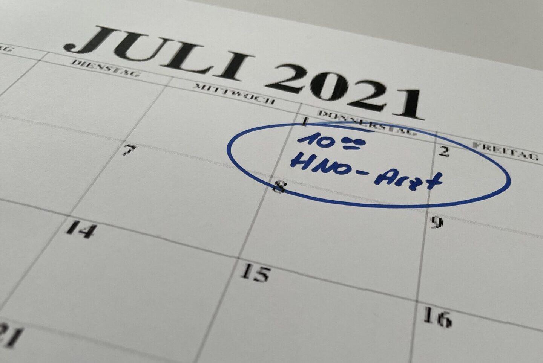 !!! Neu ab 01.07.2021 – Online Termine !!!